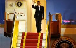 Tổng thống Hoa Kỳ Barack Obama bắt đầu thăm chính thức Việt Nam