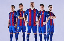 Áo đấu Barcelona đắt giá nhất hành tinh
