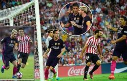 VIDEO, Ath Bilbao 0-1 Barcelona: Khởi đầu thuận lợi!