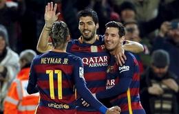 """Barca chơi sang tặng hàng loạt """"táo Mỹ"""" cho cầu thủ"""