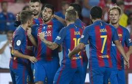 Barca thắng giòn Sevilla, Luis Enrique mừng ra mặt