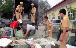 Kon Tum: Phát hiện 4 vụ vận chuyển hàng hóa trái pháp luật