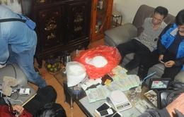 Triệt phá cơ sở chuyên sản xuất ma túy đá tại quận Nam Từ Liêm