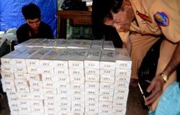 Cần Thơ: Thu giữ gần 3.000 cây thuốc lá ngoại nhập lậu