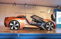 """Bất ngờ với siêu xe tự lái BMW i8 Spyder """"trong mơ"""""""