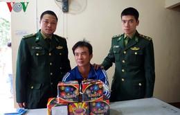 Bộ đội Biên phòng bắt quả tang 2 vụ vận chuyển pháo lậu qua biên giới