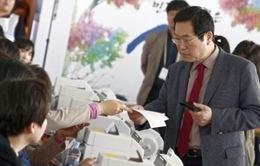 Hàn Quốc: Đảng Saenuri cầm quyền khó giành được đa số ghế Quốc hội