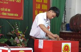 Gần 12.000 tổ bầu cử có 100% cử tri đã tham gia bỏ phiếu
