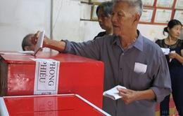 61 tỉnh, thành phố công bố kết quả bầu cử
