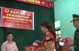 145 khu vực tại Nghệ An bỏ phiếu sớm