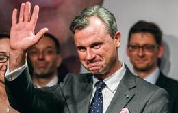 Ứng cử viên Đảng cực hữu dẫn đầu cuộc bầu cử Tổng thống Áo