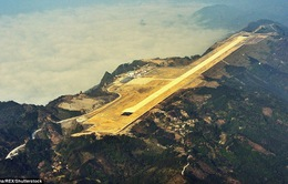 10 sân bay kỳ dị nhất hành tinh, thử thách thần kinh của phi công