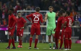 Vòng 10 Bundesliga: Bayern Munich mất điểm ngay trên sân nhà