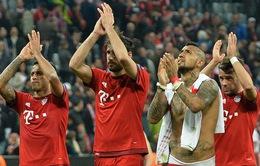 Bayern vẫn đang là tập thể hay nhất Champions League mùa này