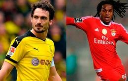 Bayern gây chấn động với hai bom tấn Hummels và Sanches chỉ trong 1 ngày