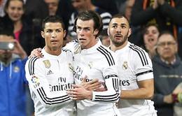 Benzema-Bale-C.Ronaldo cán mốc 100 bàn ở chung kết Champions League?