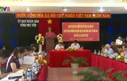Phó Chủ tịch QH Đỗ Bá Tỵ kiểm tra tình hình bầu cử tại Phú Yên