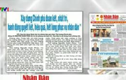 Báo chí toàn cảnh (4-10/4): Kiện toàn bộ máy lãnh đạo cấp cao
