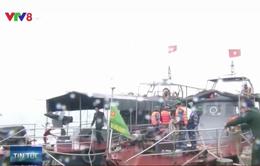 Quảng Bình: Lực lượng biên phòng ra quân tuần tra trên biển