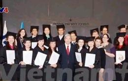 Đại học Tel Aviv trao bằng Thạc sĩ nông nghiệp cho sinh viên Việt Nam