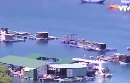 Nha Trang chấm dứt hoạt động nhà hàng nổi trên biển