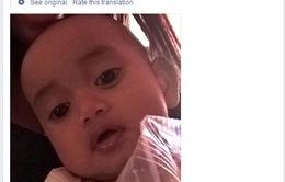 Vụ khủng bố ở Nice: Em bé 8 tháng tuổi đoàn tụ gia đình nhờ mạng xã hội