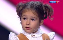 Bé gái Nga 4 tuổi biết nói 7 ngôn ngữ