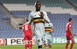 Benteke lập kỷ lục bàn thắng nhanh nhất vòng loại World Cup