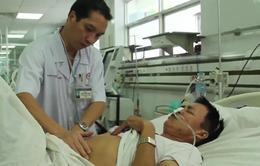 Cấp cứu an toàn bệnh nhân từ Trường Sa về TP.HCM bằng thủy phi cơ
