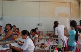 Bệnh viện đa khoa tỉnh Đăk Lăk quá tải bệnh nhân