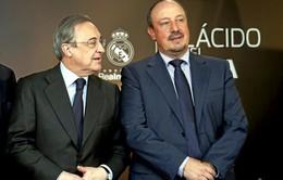Real Madrid tính sa thải Benitez, bổ nhiệm Zidane