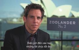 """Ben Stiller chúc mừng ngày 8/3: """"Chào em, Việt Nam"""""""