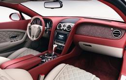 Bentley dùng đá 200 triệu năm tuổi trong nội thất xe