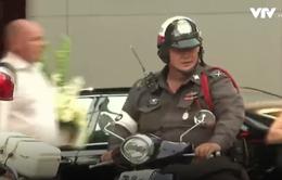 Béo phì ám ảnh cảnh sát giao thông Bangkok