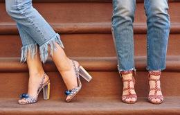 Mẹo kết hợp để quần Jeans và giầy trở thành cặp đôi hoàn hảo