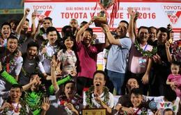 Vòng 26 V.League 2016: Hà Nội T&T lên ngôi kịch tính