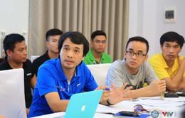 Đài THVN họp sản xuất về việc hiển thị đồ hoạ khi sản xuất chương trình tại ABG5