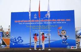 Lễ thượng cờ các quốc gia, vùng lãnh thổ tham dự Đại hội thể thao bãi biển châu Á lần thứ 5 - 2016