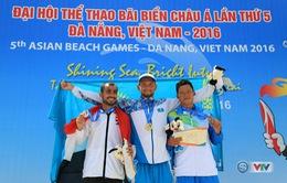 22 quốc gia và vùng lãnh thổ đã giành huy chương tại ABG5