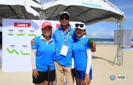 Bóng gỗ tiếp tục mang vàng về cho đoàn thể thao Việt Nam