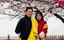 Quốc vương đất nước hạnh phúc Bhutan hẹn ước khi Hoàng hậu 7 tuổi