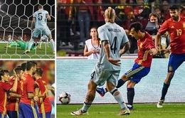 VIDEO, Bỉ 0-2 Tây Ban Nha: Silva tỏa sáng, Lopetegui khởi đầu ấn tượng!