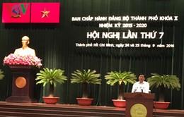 Bế mạc Hội nghị lần thứ 7 Ban Chấp hành Đảng bộ TP.HCM