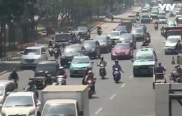 Indonesia áp quy định ô tô lưu thông biển chẵn lẻ nhằm tránh tắc đường