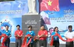 """600 sinh viên tiêu biểu tham gia """"Sinh viên với biển, đảo Tổ quốc"""""""