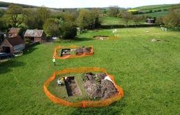 Phát hiện dinh thự 1.400 năm tuổi trong khu vườn ở Anh
