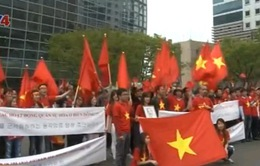 Cộng đồng người Việt tại Hàn Quốc phản đối các hoạt động của Trung Quốc tại Biển Đông