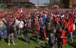 Hàng chục nghìn công nhân ngành thép tại Đức biểu tình