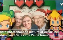 """Tỷ phú Bill Gates """"đóng vai"""" ông già Noel dịp Giáng sinh"""