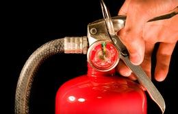 Sử dụng bình chữa cháy thế nào cho đúng cách?